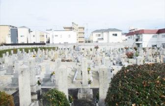 新田中野財産区墓地